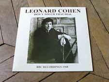 LEONARD COHEN Dont touch that dial LP BBC 68