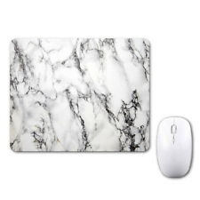 White Marble Lovely Pretty Mouse Mat Pad Notebook Computer Laptop Mice