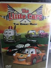THE LITTLE CARS In The Race DVD 2006 PETER PAN MOVIE WATCHED A FEW TIMES