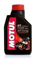 Olio Motore Moto Motul 7100 4T 10W50 100% Sintetico ESTER MA2 - 3 litri lt