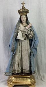 Madonna Addolorata Dolosa Triste Neapolitan Santon 57 cm alt. tall Mary