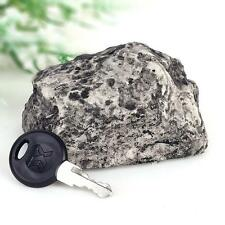 New Fake-Rock Key Hider Outdoor Mud Spare Key  Safe Hide Security Stone Case Box