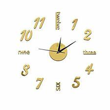 3D Reloj de Pared Moderno Grande Para Decoraciones de Hogar Reloj de Pared