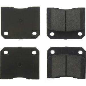 Disc Brake Pad Set-Base Rear,Front Centric 105.00090