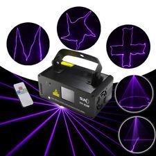SUNY DMX512 LED 8CH Laser Stage Light  Scanner Projector DJ Light+Remote control