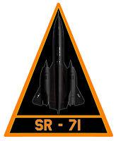 LOCKHEED SR 71 BLACKBIRD BLASON BADGE SQUADRON 12cm AVION STICKER AV059