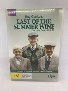Last Of The Summer Wine Complete Series 15 & 16 (Australia Region 4) DVD – NEW