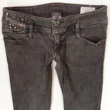 Ladies Womens Diesel MATIC 008J7 Stretch Skinny Grey Jeans W28 L32 UK Size 8