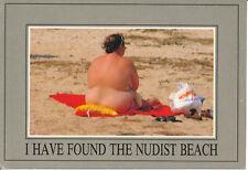 PC00825 I Have Found the Nudist Beach. Woman. Bamforth. 1998