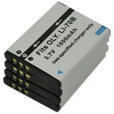 4X Li-70B Li70B Battery for Olympus VG-140 VG-150 VG-160 X-940 Camera VG-110 New