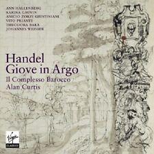 CURTIS/HALLENBERG/GAUVIN/IL COMPLESSO BAROCCO - GIOVE IN ARGO  3 CD HÄNDEL NEU