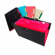 8 Pockets A4 Paper File Folder&Document File , Black