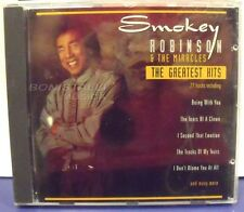 SMOKEY ROBINSON & THE MIRACLES - THE GREATEST HITS - CD New Unplayed