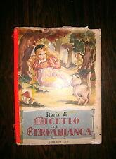 Contesse De Segùr # STORIA DI MICETTO E CERVABIANCA # Carroccio 1951