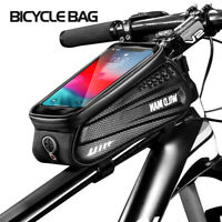 Under Seat Outdoor Cycling Bags Bike Phone Holder Storage Pouch Bicycle Bag