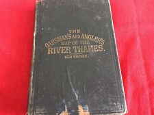 James Reynolds & Sons Oarsman's & Angler's Map of the River Thames -