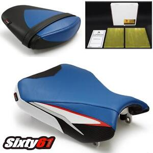 Rear Seat Pillion Passenger Pad for SUZUKI GSXR600 GSXR750 2011 2012 2013-2018