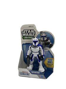 Star Wars Jedi Force Playskool Heroes Captain Rex Action Figure NEW