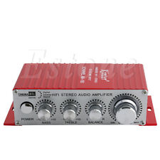 MA-180 2-CH DC12V Hi-Fi AMP Stereo USB Car Boat Audio Auto Power Amplifier New