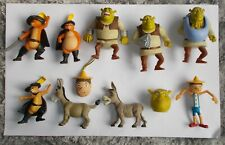 Bundle 1 Film Shrek Toys Action Figures Head Donkey Cat Puss In Boots Pinocchio