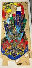 Brand New CACTUS CANYON Pinball Playfield In Great Condition. Mirco Reproduction