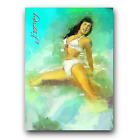Bettie+Page+%2387+Sketch+Card+Limited+1%2F50+Edward+Vela+Signed