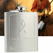 7oz Stainless Steel Jerry Can Hip Flask Liquor Whisky Pocket Bottle Men Gift HOT