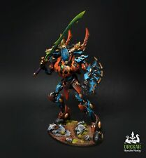 Wraithknight Eldar craftworlds warhammer 40K ** COMMISSION ** painting