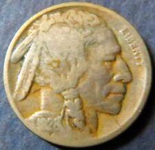 "1928-D  INDIAN HEAD/BUFFALO NICKEL, Fine Details, ""LOW""  DENVER Mint Coin #3"
