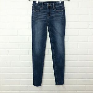 American Eagle Outfitters Size 0 360 Ne(x)t Level Stretch Cozy Jegging Raw Hem