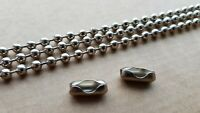 Metal roller blind chain roman blind chain No10 SOLD BY THE METRE