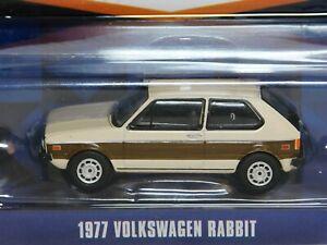 Greenlight 1977 Volkswagen Rabbit  1:64 Scale Mint in Pack VW Golf Mark 1