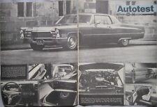 1968 Cadillac Coupe De Ville Original Autocar magazine Road test