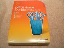 Microsoft Office 2010 Home & Business RETAIL complete with case and product key!