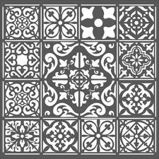 Stamperia Mix Media Thick Stencil – Azulejos Tiles New KSTDQ25