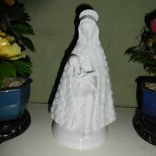 VINTAGE 1977 R.R.ROMAN ITALY PORCELAIN STATUE OF  VIRGIN MARY  WITH BABY JESUS