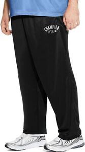Champion Men's Performance Pants Big and Tall Open Bottom
