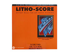 HS BOYD Litho-Score Card #826-3 Bindery Supplies Cutting Guide Litho Score