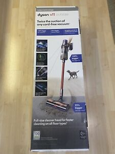 NEW Dyson V11 Outsize Cordless Vacuum Cleaner - Red / Nickel