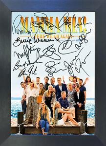 MAMMA MIA 2 Film Poster Signed Reproduction Autograph Photo Prints A4 756