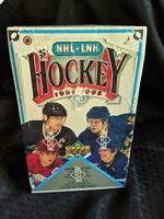 1991-92 Upper Deck Hockey Cards NHL LNH Sealed Box 36 Packs Wayne Gretzky Brett