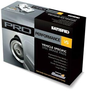 Semi-Met Brake Pads  Satisfied Brake Products  PR885