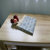 Retro Tablecloth Washable Coffee Dinner Chinese Blue and White Porcelain Decor W
