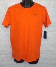 Boys Reebok Core Short Sleeve T Shirt Top 15-16 Years Old Orange Brand  #W038
