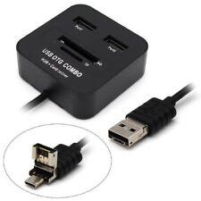 Lettore Di schede Di Memoria Memory Card Otg + Hub 2 Usb Linq Otg-u432