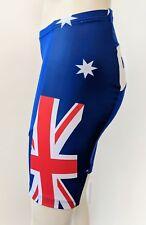 Women's K-Swiss Cycling/Biking Shorts Padded Australia Small Red/White/Blue EUC
