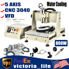 800W 5 AXIS CNC 3040 Router Engraver Engraving Machine VFD Cutter Water Cooling