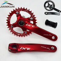 104bcd MTB Bike Crankset 170mm Crank Chainset 32T-42T Narrow Wide Chainring BB