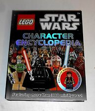 2011 Star Wars - LEGO CHARACTER ENCYCLOPEDIA + FIGURE - Great Used Condition