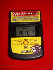 RADICA Between Ace Deuce Red Dog Poker Electronic Handheld Game - Tested Works